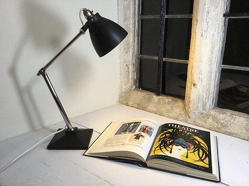 Art Deco Chrome Arm Desk Lamp