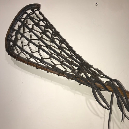 Vintage lacrosse stick by Mattersby & Sons
