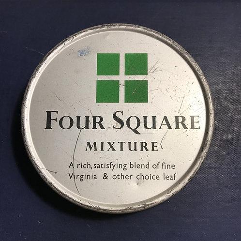 Vintage Four Square Tobacco Mixture Tin