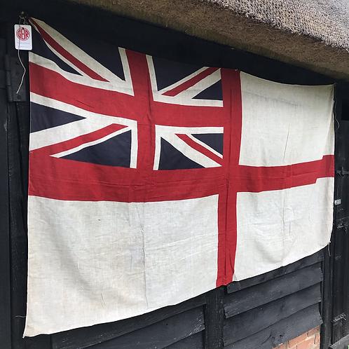 Vintage printed White Ensign Flag (5702 (F3)