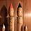 Thumbnail: Vintage 'Creative' Kokeshi set x 4 dolls in the style of Japanese artist brushes