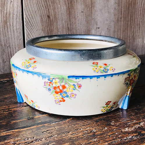 Art Deco circular bowl by Parrot & Co Burslem
