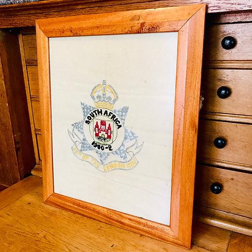 23rd Battalion The London Regiment  - Commemorative Needlework
