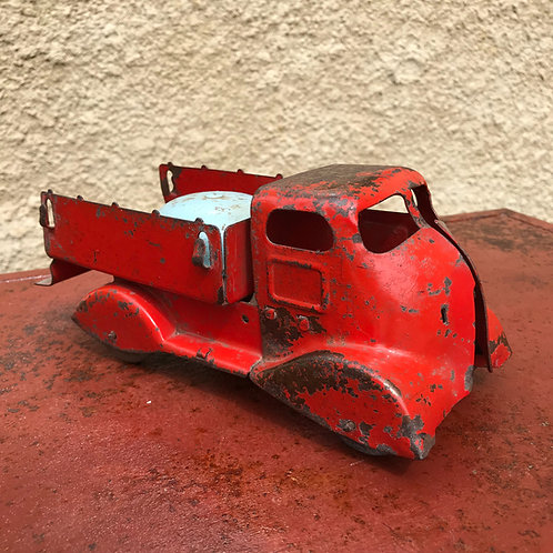 1930s pressed steel Art Deco Streamliner Truck Toy