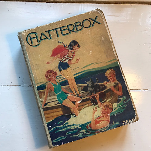 Chatterbox Annual 1935 hard back book