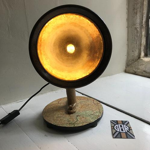 Genuine Vintage Lucas King of the Road Headlamp Desk Lamp