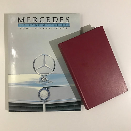Mercedes cars book bundle (2)