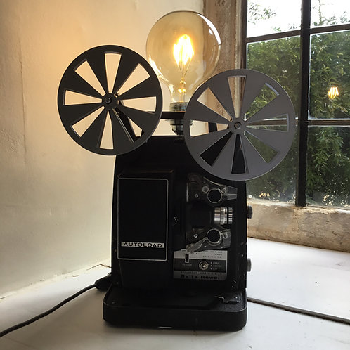 1960's Bell & Howell 8mm Projector Feature Lamp