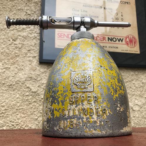 Vintage Shell Oil Upper Cylinder Lubricant Dispenser