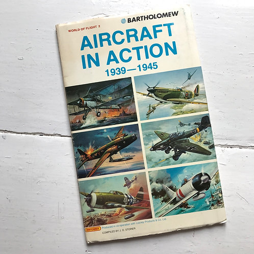 1977 - Bartholomew World of Flight Series 2 - Aircraft in Action 1939 - 1945