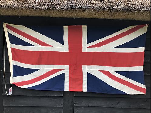 Vintage 20thC stitched panel Union Flag (5710 (F7)