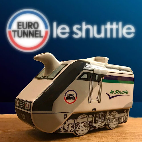 Sadler Eurotunnel Le Shuttle Train Tea Pot