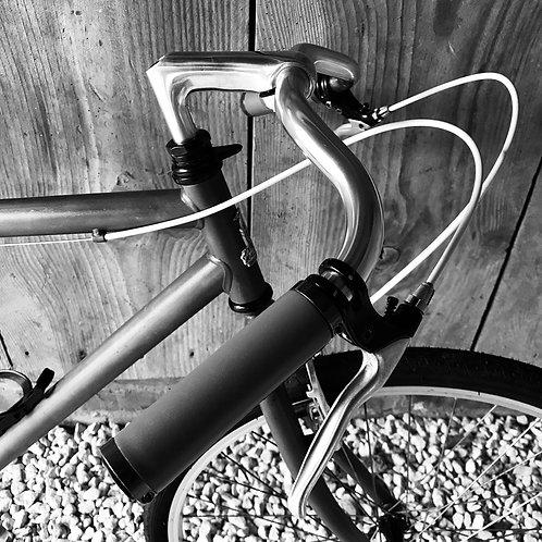 Cafe Racer inspired single speed vintage bike