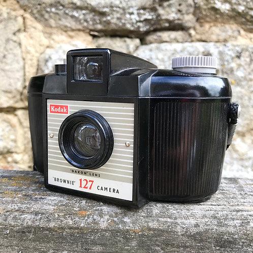 Art Deco Design Kodak Brownie 127 Camera