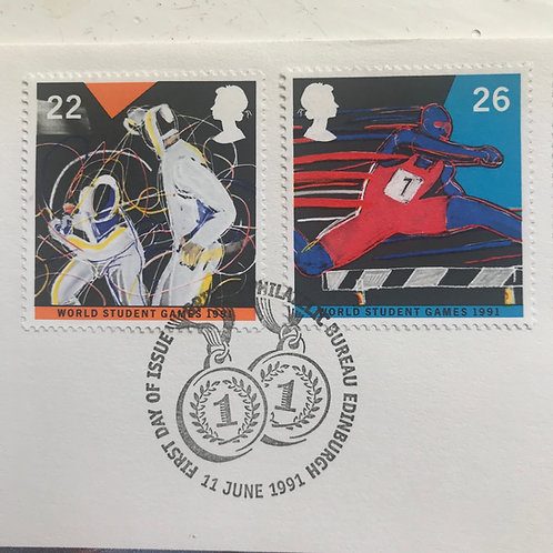 1991 The Year of Sport First Day Cover