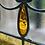 Thumbnail: Art Nouveau Tulip Design stained glass panel (ref no 333)