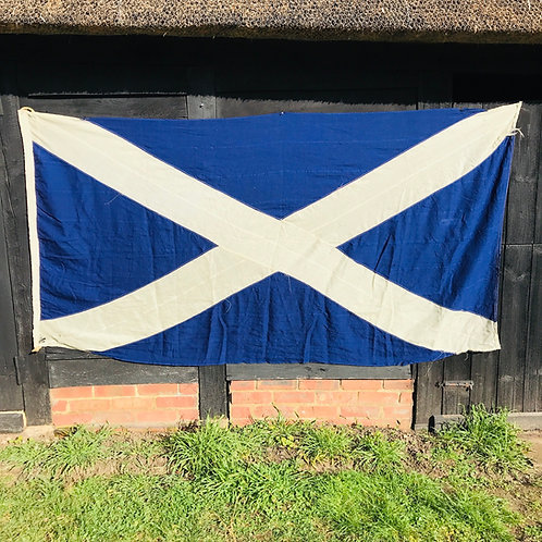 Vintage Scottish Saltire - St Andrew's Cross Flag