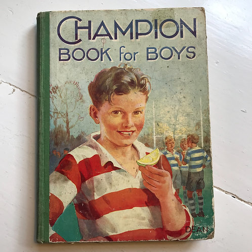 1938 - Champion Book For Boys