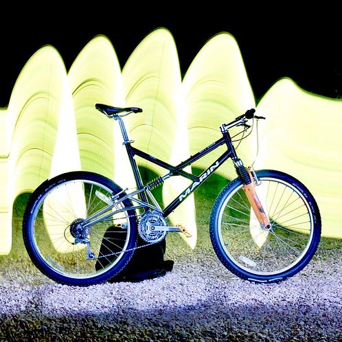 Late 1990s 20'' Marin Rift Zone Full Suspension Mountain Bike