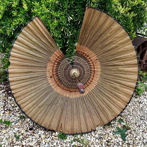 Antique oriental parasol - requires repair