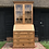 Thumbnail: Pine Bureau Bookcase with feature astral glazed doors