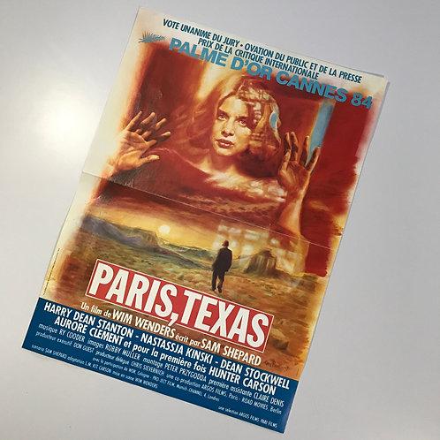 Original French Edition Paris, Texas Film Poster