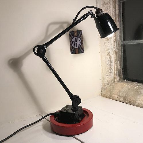 1950's EDL small machine lamp