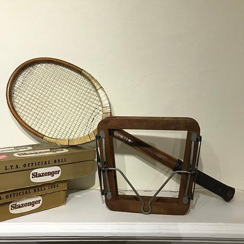 Vintage Murray & Baldwin Tennis Racket