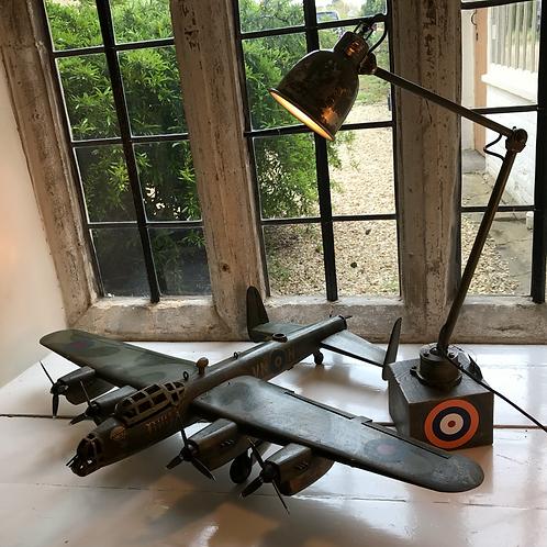 1940's Battle of Britain inspired machine lamp
