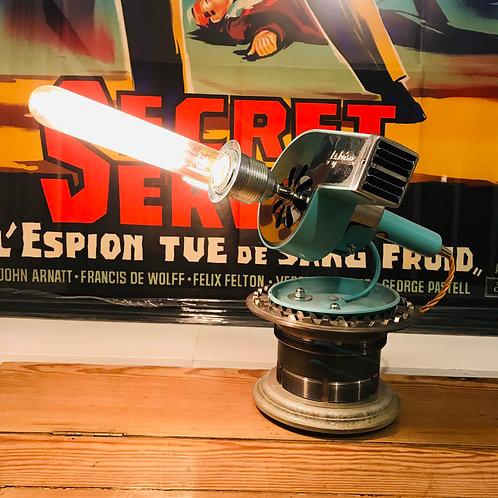 Jet Age 1950's Le John Electric Hairdryer Lamp with Tornado Jet part base