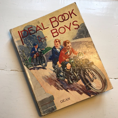 Vintage Book - Ideal Book for Boys