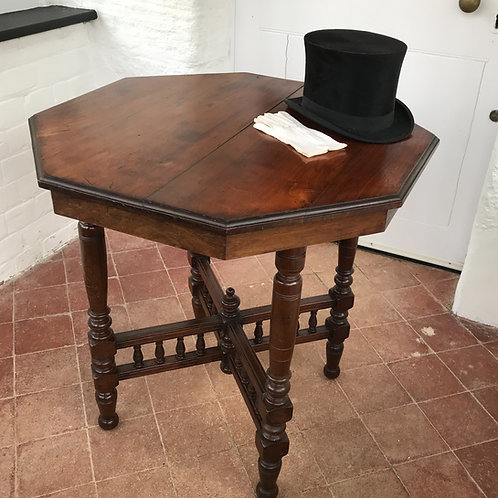Victorian Octagonal Centre Table