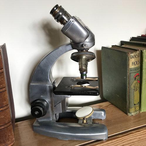 Late 1950s Cook Troughton & Simms Binocular Microscope
