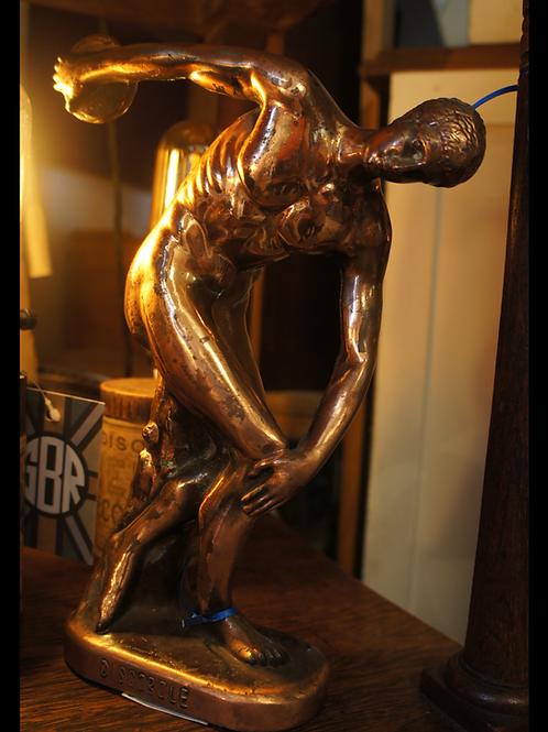 1960 Olympics Discobole Copper Statue