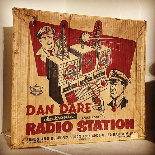 Late 1950s Dan Dare Space Control Radio Station