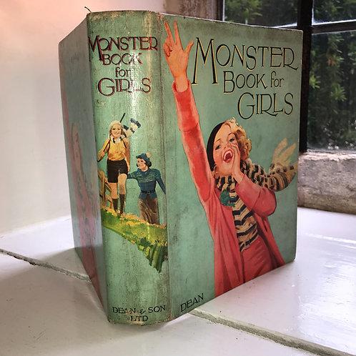 Monster Book for Girls Hardback