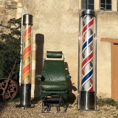 Salvaged XXL Floor Mounted Barbers Pole