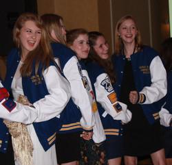 The lettermen jackets!!