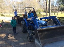Sunday barn crew!!