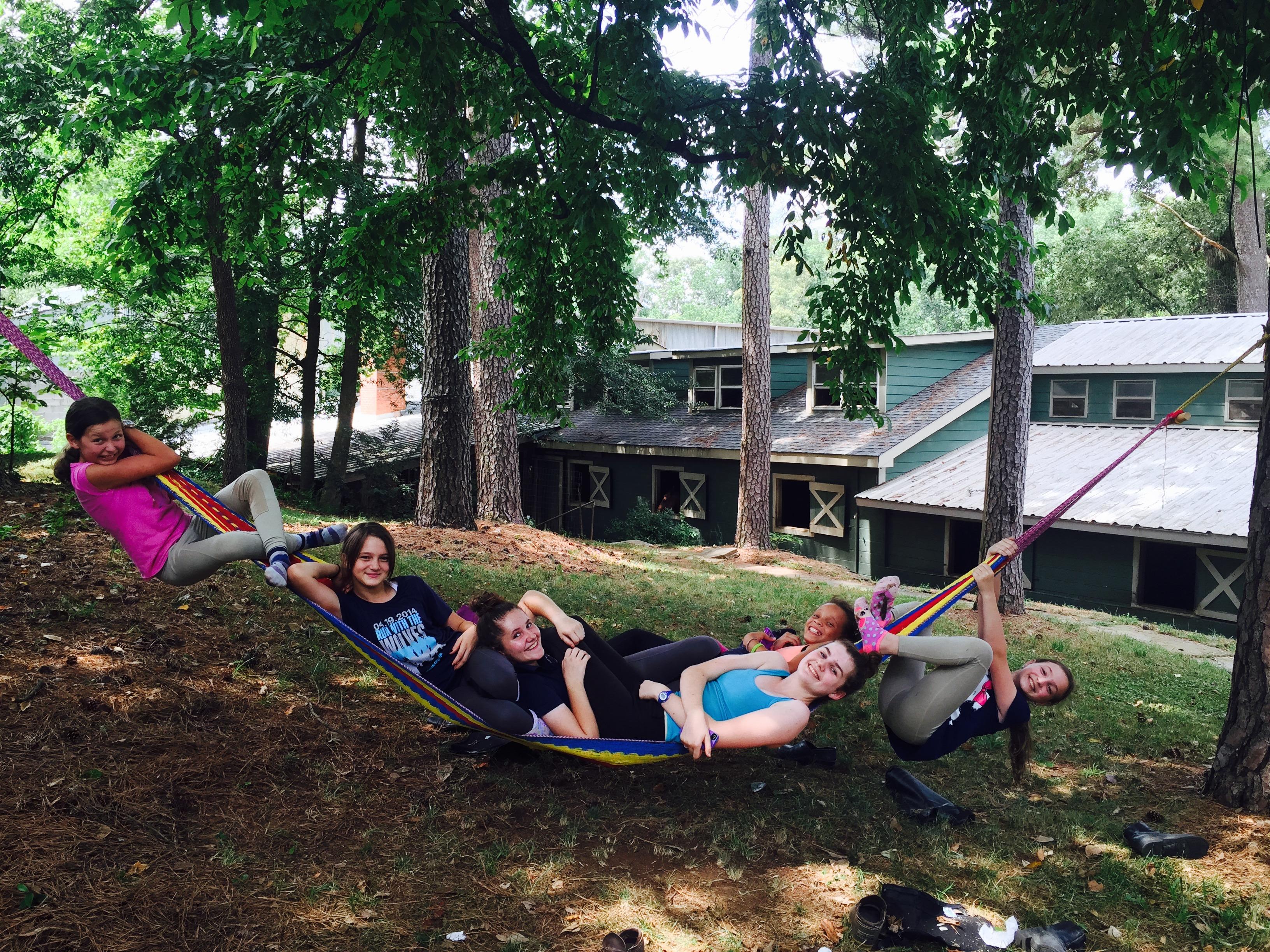 Carlo's sacred hammock.....