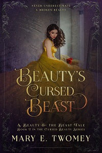 Beauty's Cursed Beast Ebook Cover - 2 lo