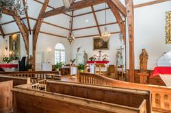 Wedding at Tremblant's chapel