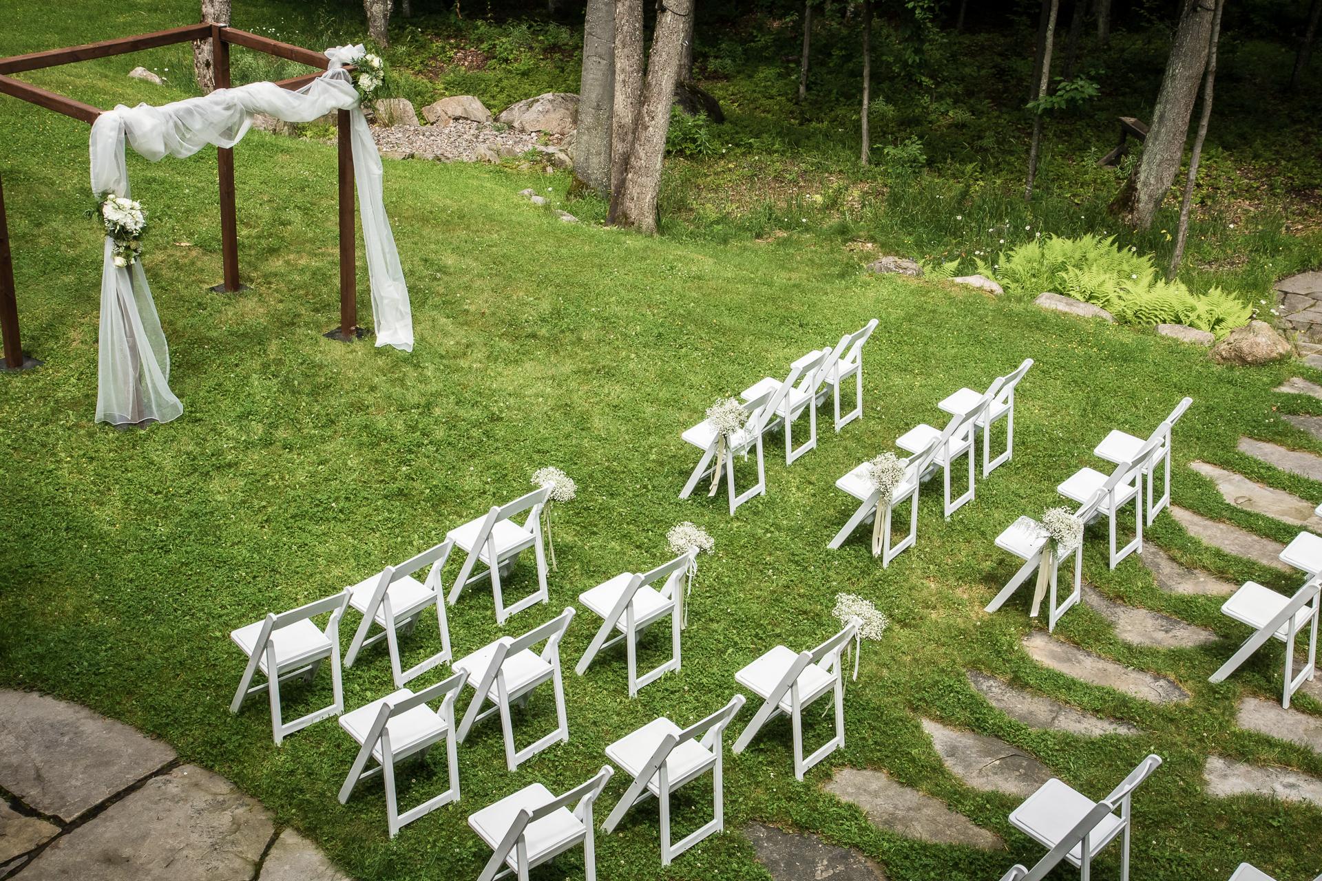 Mariage au chalet