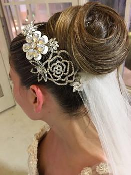 Jeweled Bridal Combs