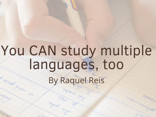 I'm studying multiple languages — YOU CAN TOO