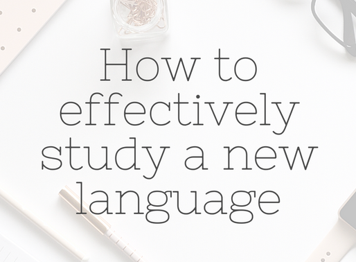How to effectively study a new language - Why you should start with speaking