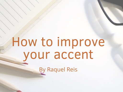 How to improve your accent