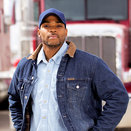 Black Truck Driver Red Truck.png