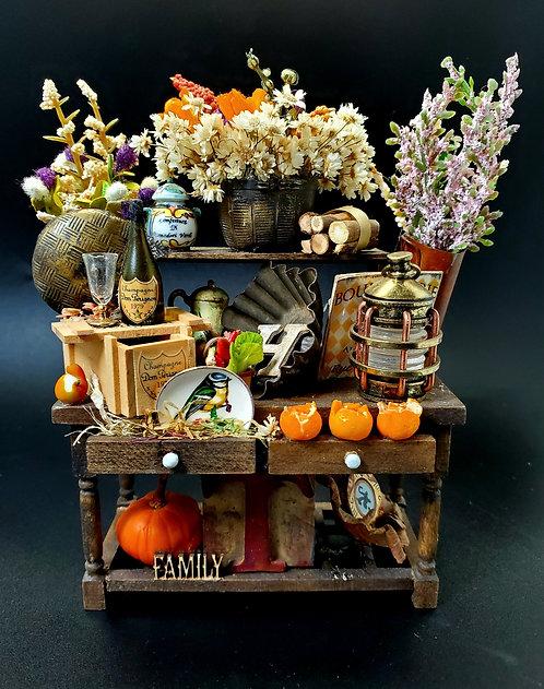 Rustic Autumn Sideboard