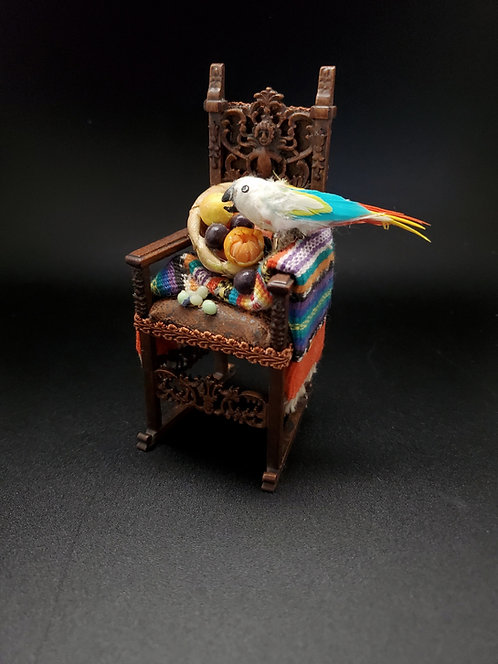 Chair with Parrot